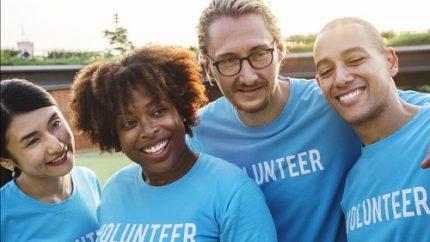 event helpers and volunteers
