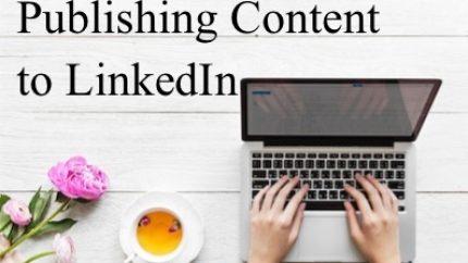 linkedin content