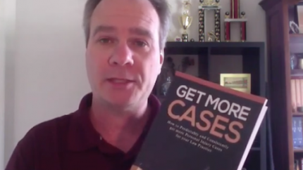 Ed Akehurst with Get More Cases Book