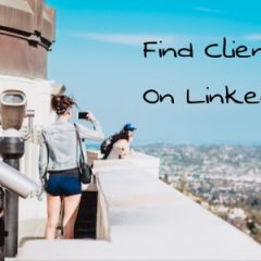 find clients on LinkedIn