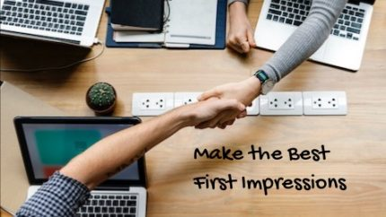 making the best first impressions