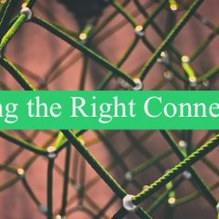 Making the right connections